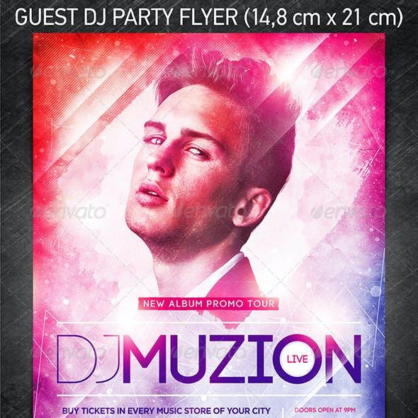 Guest DJ Party Flyer Vol.7