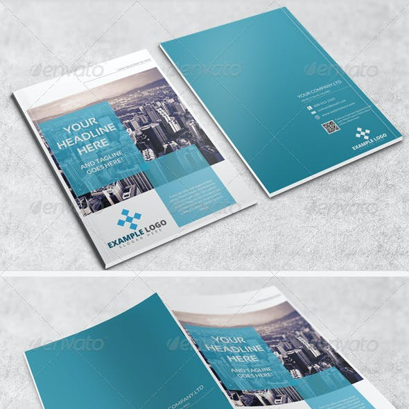 Brochure or Magazine Mockup