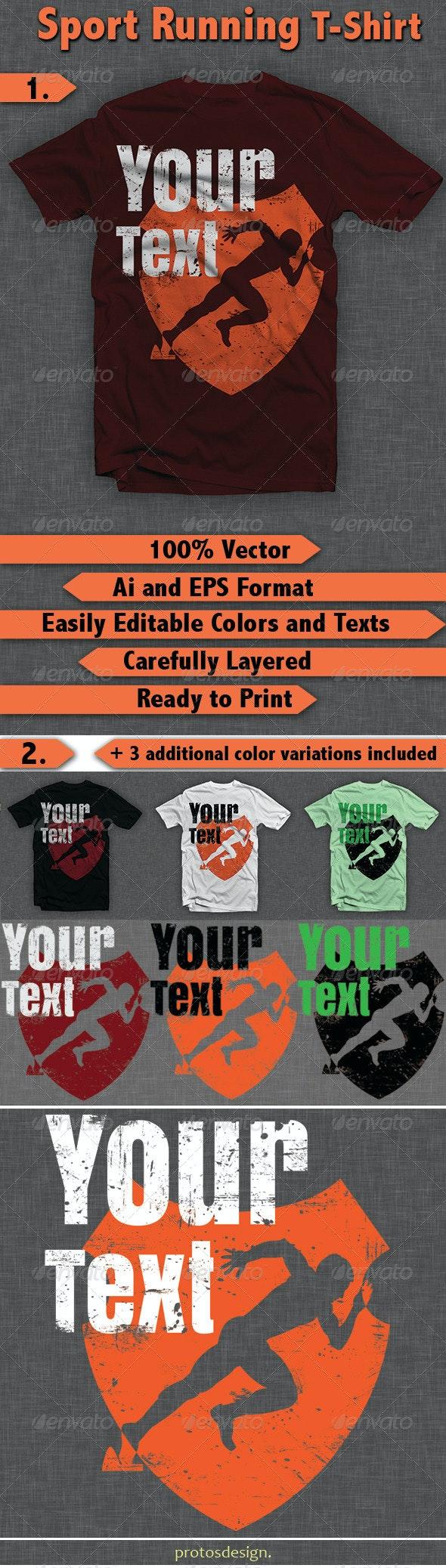 Sport Running T-Shirt - T-Shirts
