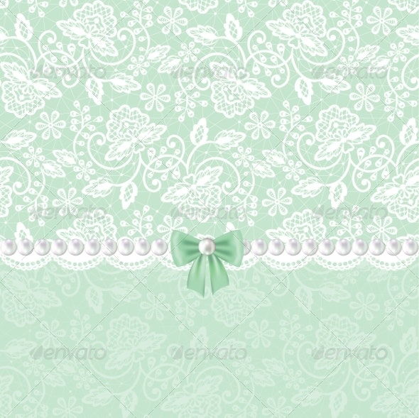White Lace  - Backgrounds Decorative