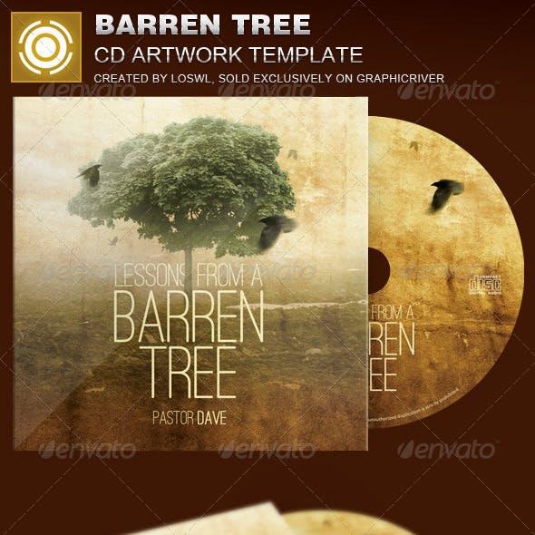 Barren Tree CD Artwork Template