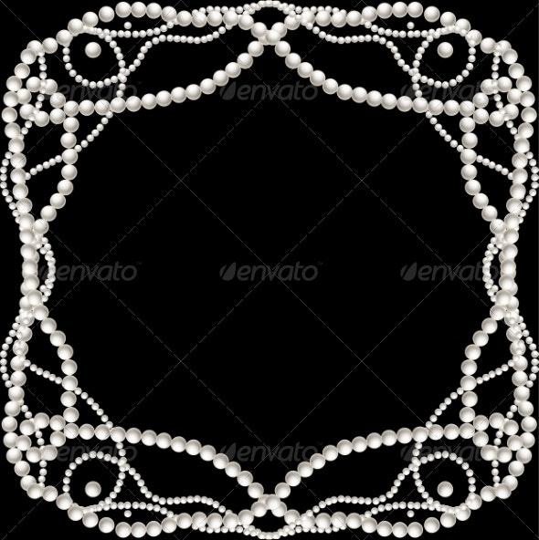 Pearl Decoration - Backgrounds Decorative
