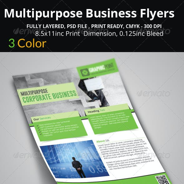 Multipurpose Business Flyers