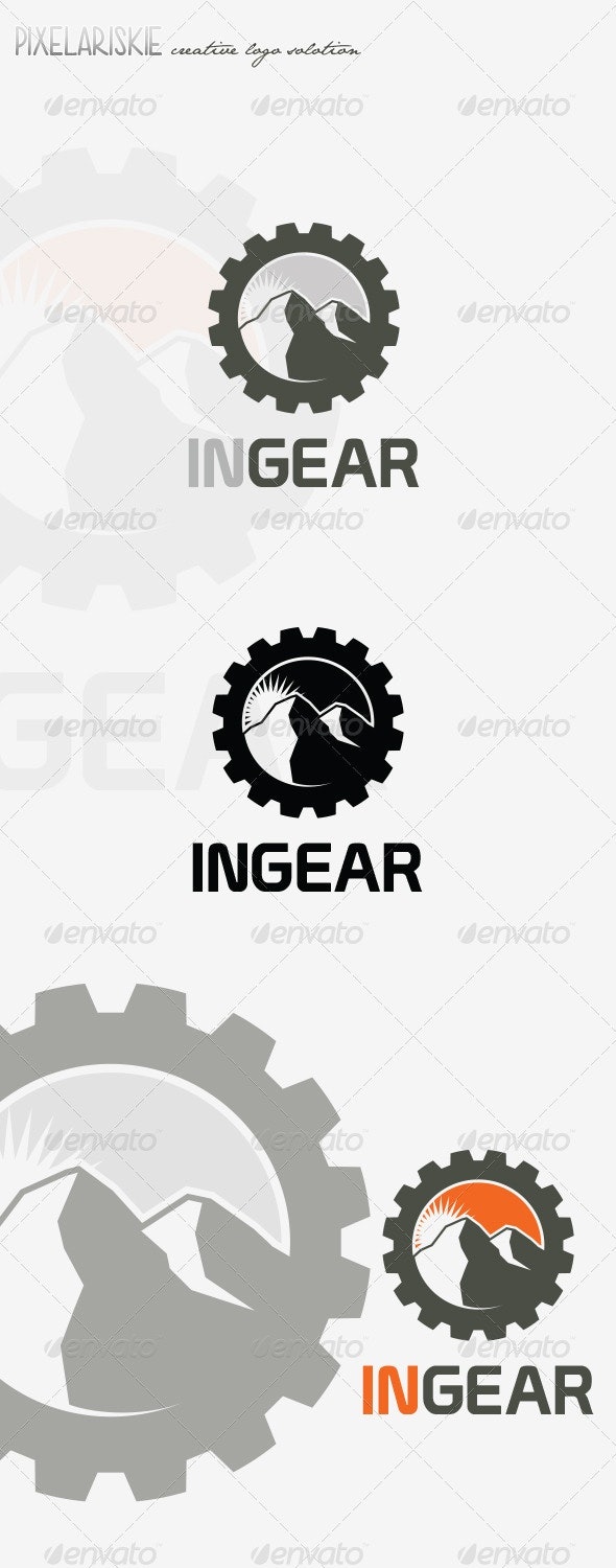 In Gear Logo - Nature Logo Templates