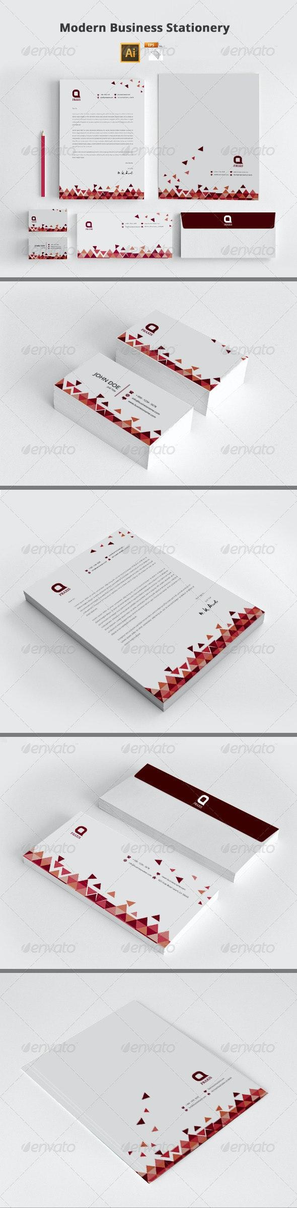 Modern Business Stationery - Stationery Print Templates
