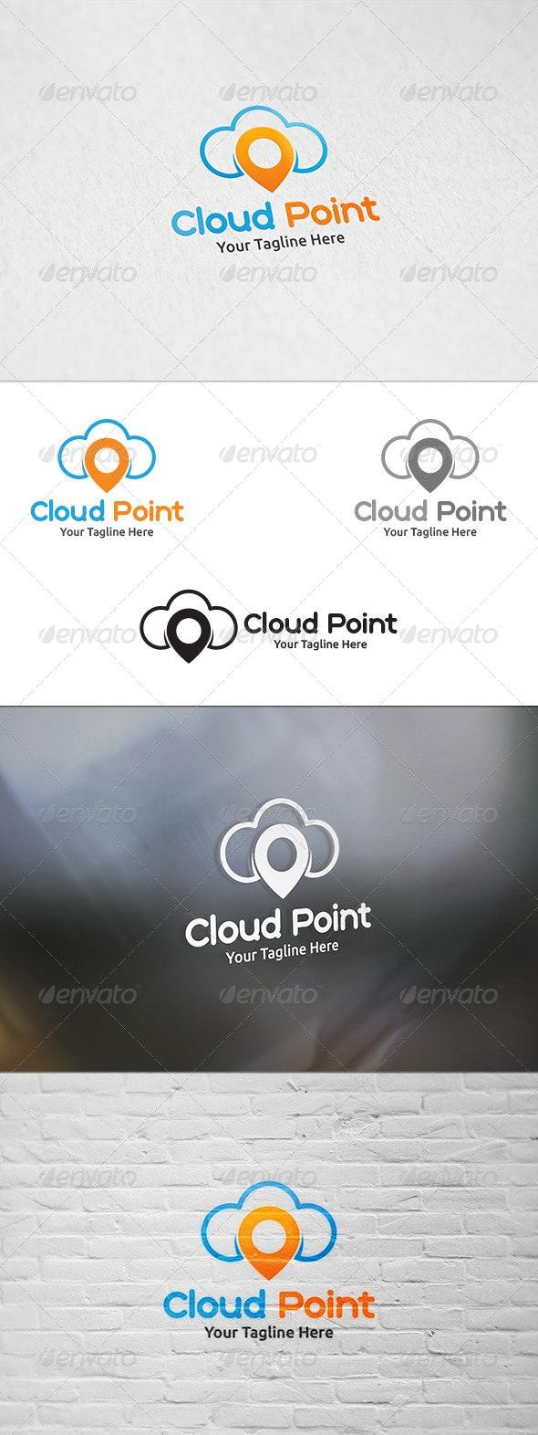 Cloud Point - Logo Template - Symbols Logo Templates