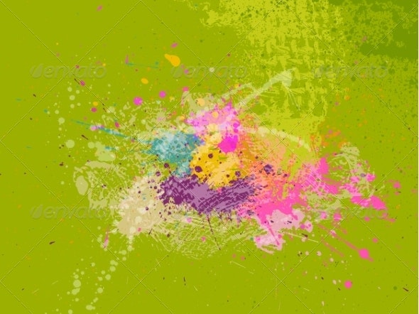 Abstract Grunge Background - Backgrounds Decorative