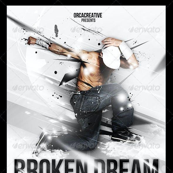 Broken Dream Flyer Template