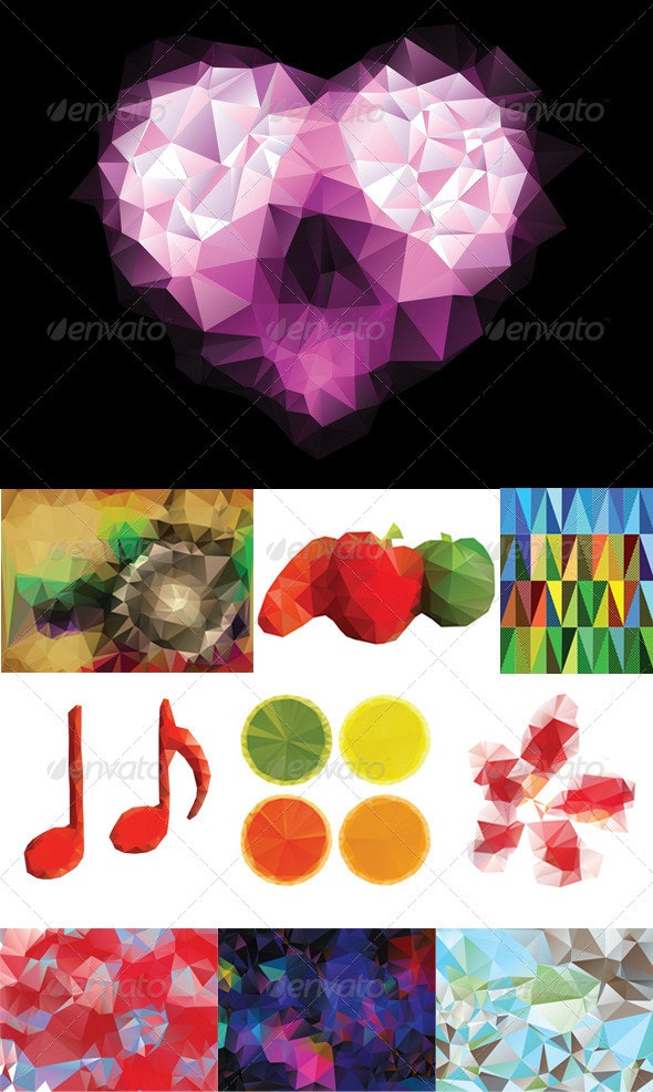 Colorful Geometric Background - Miscellaneous Vectors