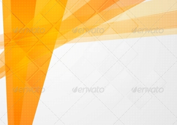 Abstract Orange Technical Backdrop - Backgrounds Decorative