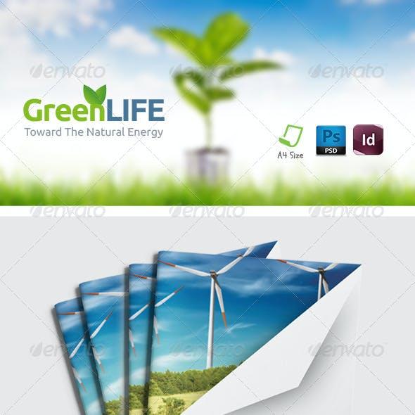 Green Energy Brochure Templates