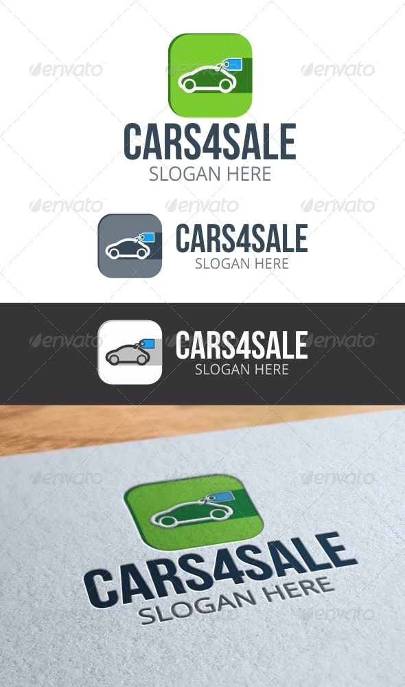 Cars 4 Sale Logo - Objects Logo Templates