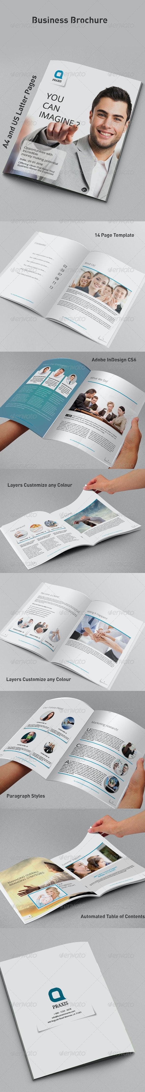 Business Brochure - Brochures Print Templates