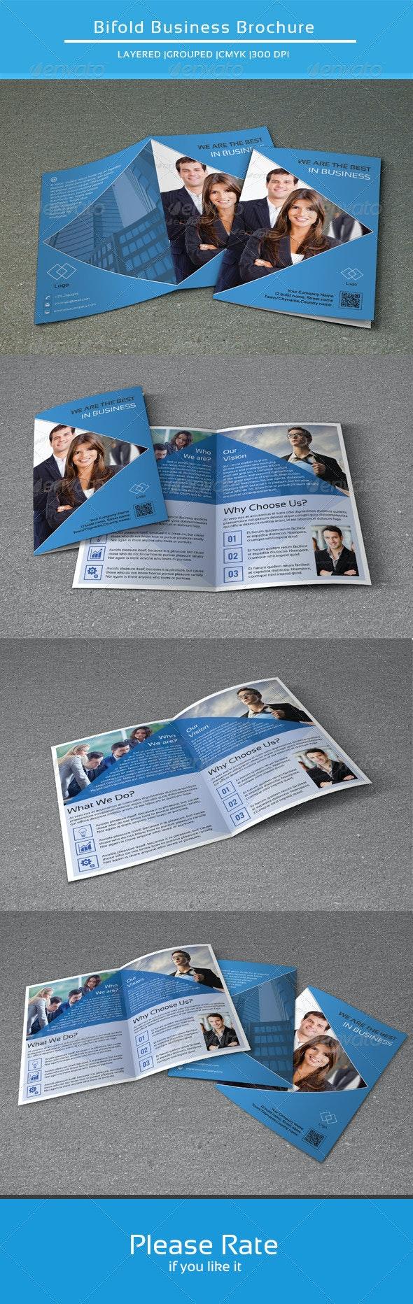 Bifold Business Brochure-V101 - Corporate Brochures