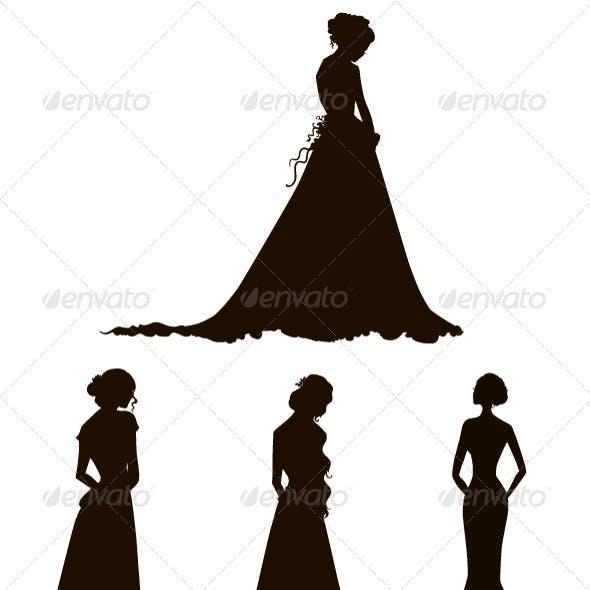 Bride Silhouettes