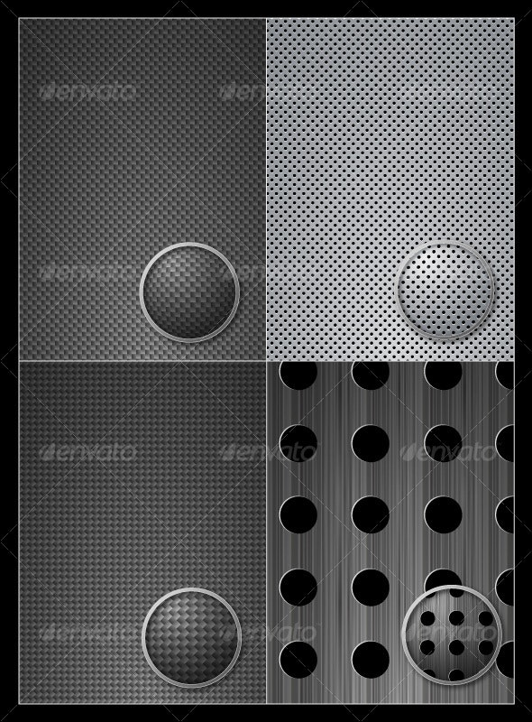 Vector Carbon Metal Pattern - Patterns Decorative