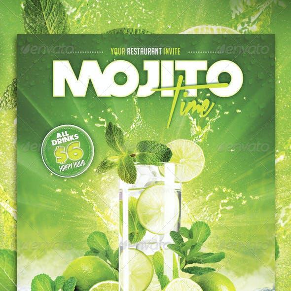 Mojito Time Flyer