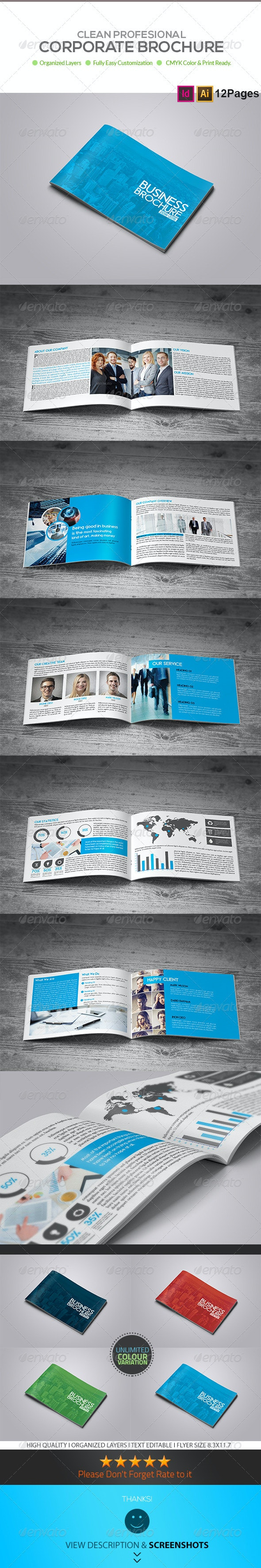 12 Page Business Brochure - Corporate Brochures