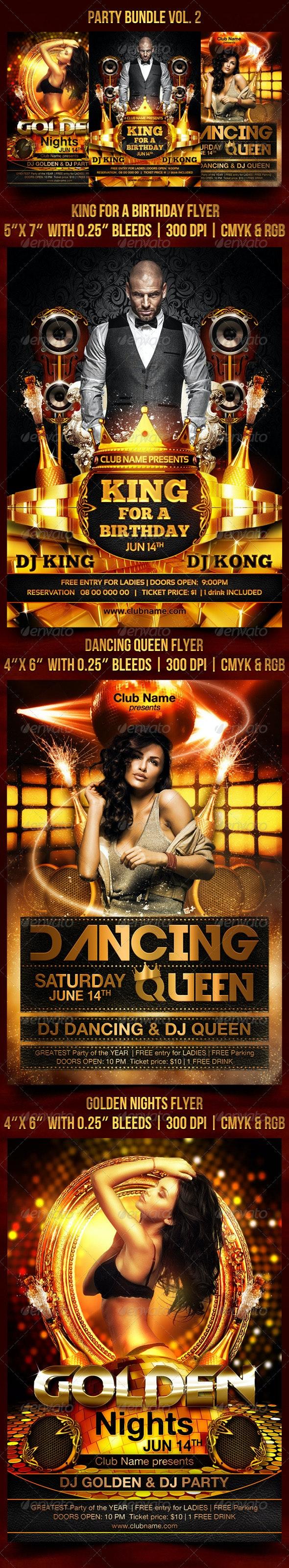 Party Bundle Vol. 2 - Clubs & Parties Events