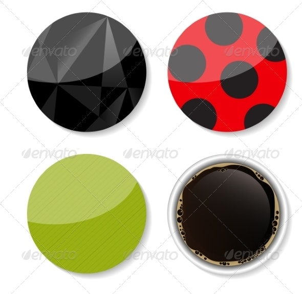 Stickers Set for your Business Vector Illustration - Retail Commercial / Shopping