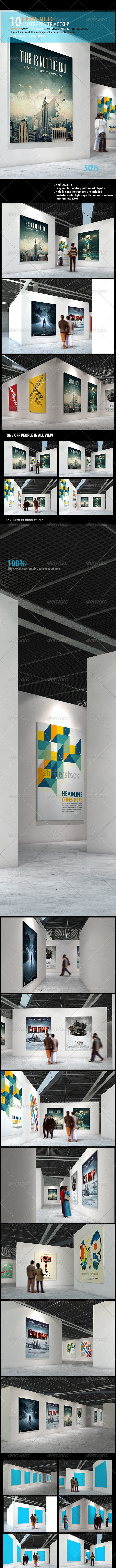 Gallery Poster Mockups - Posters Print
