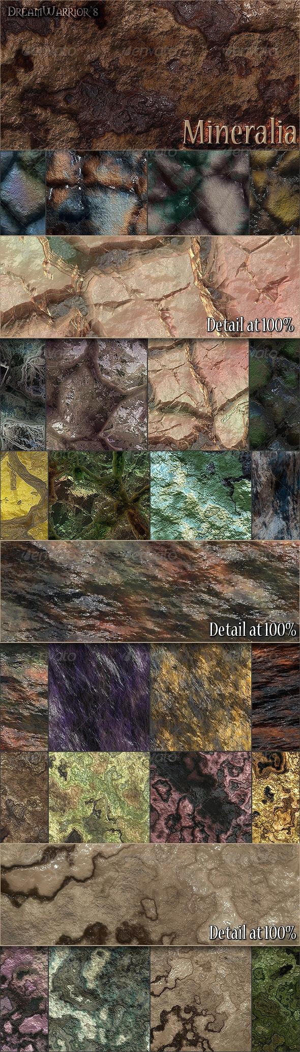 Mineralia - Seamless Textures - Stone Textures
