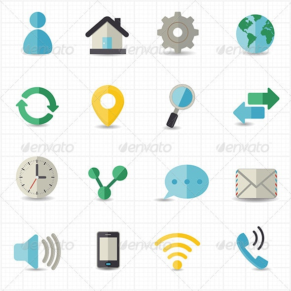 Web and Internet Icons - Web Icons