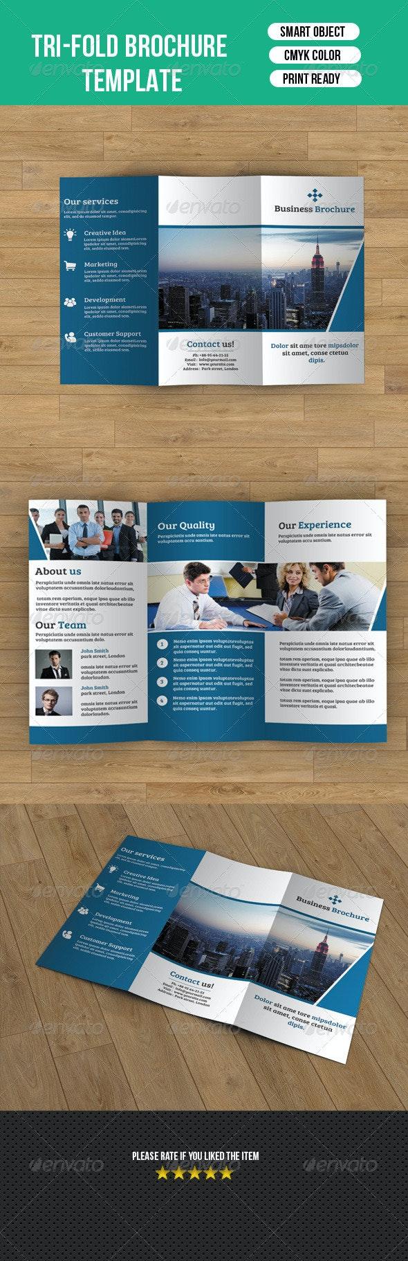 Trifold Business Brochure-V40 - Corporate Brochures