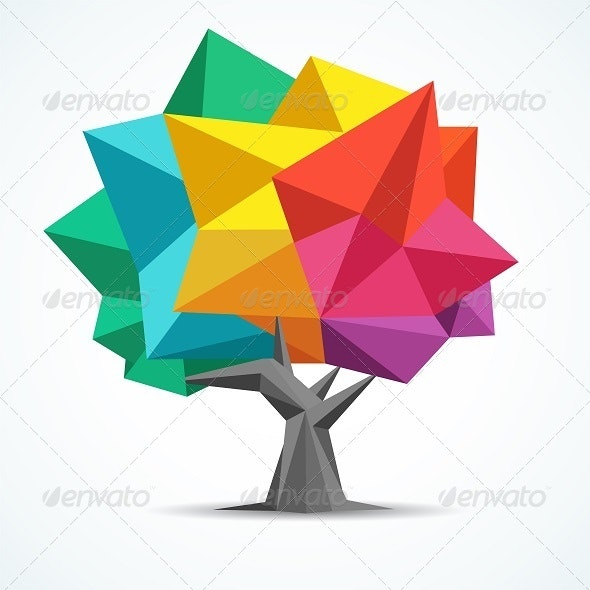 Colorful Tree - Flowers & Plants Nature