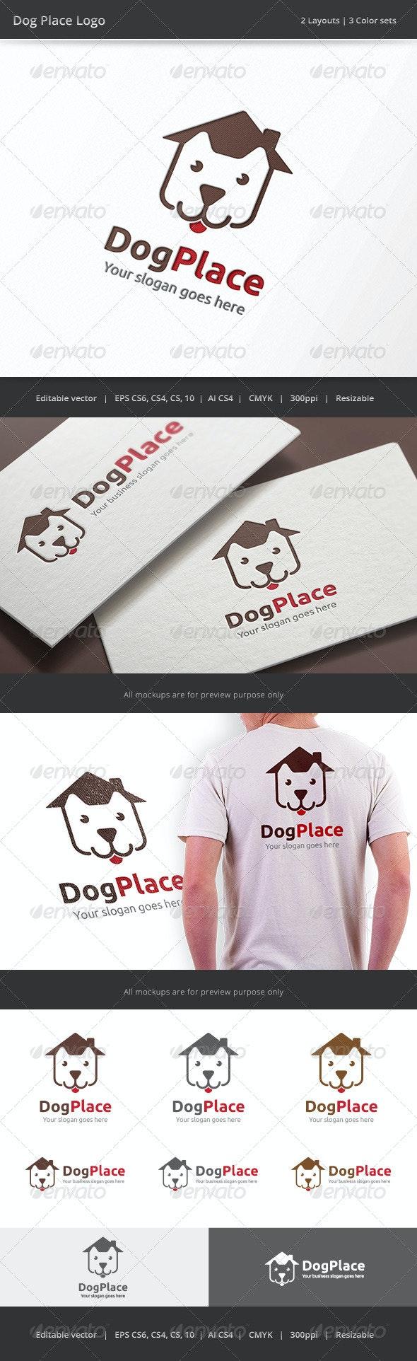 Dog Place Logo - Animals Logo Templates