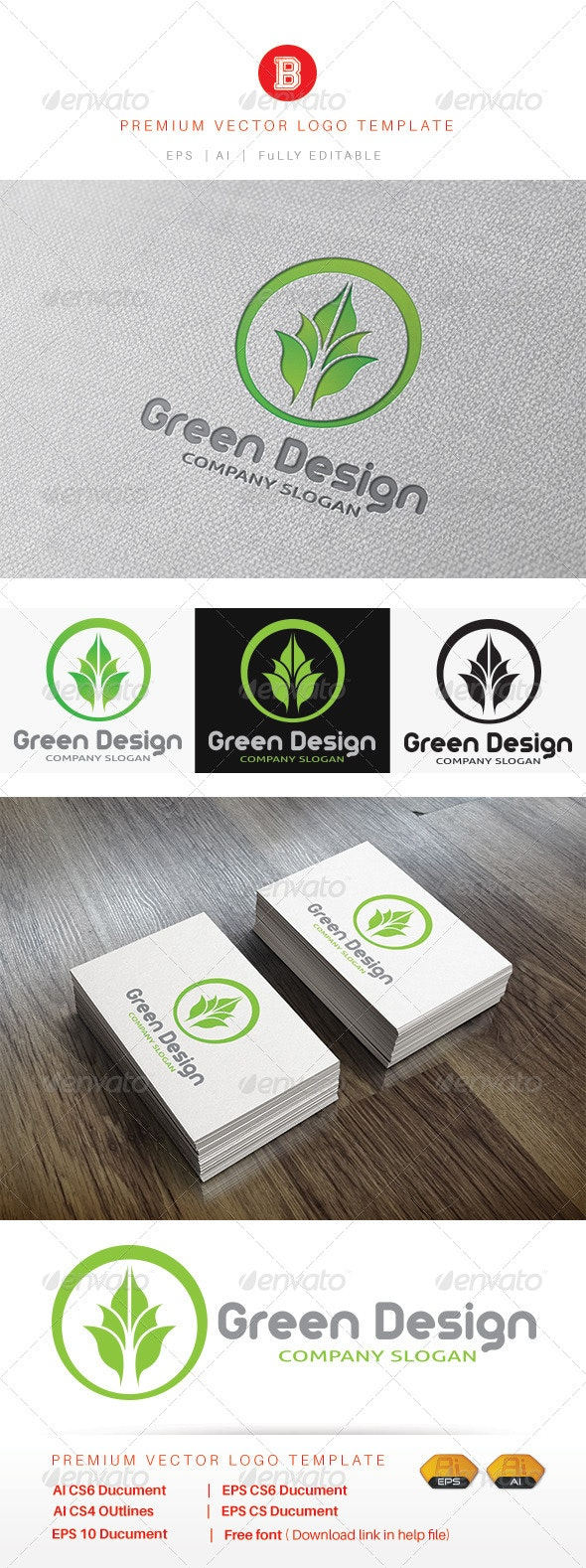 Green Design - Nature Logo Templates