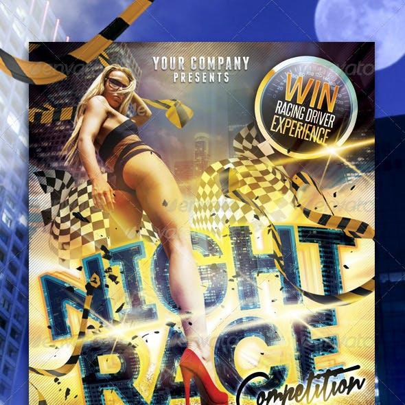 Night Race Flyer