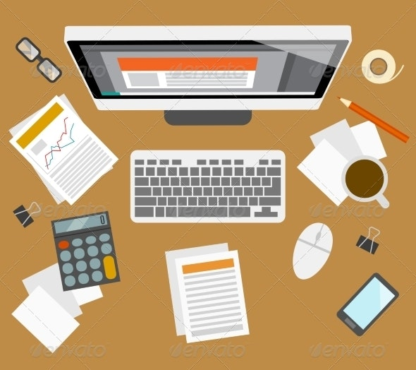 Accounter Management Workplace - Computers Technology