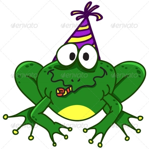 Smiling Frog - Animals Characters
