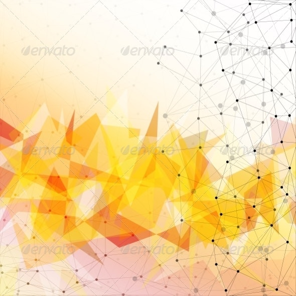 Triangle Background Design - Backgrounds Business