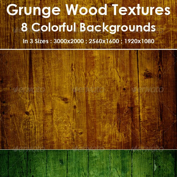 Wood Textures / Backgrounds