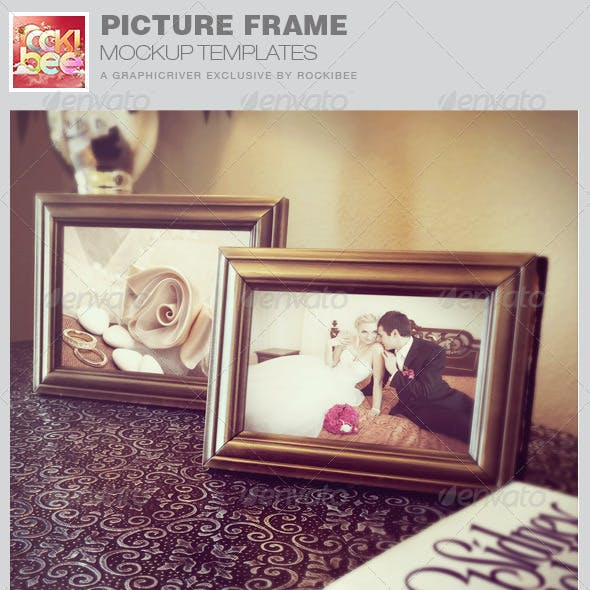 Picture Frame Mockup Templates