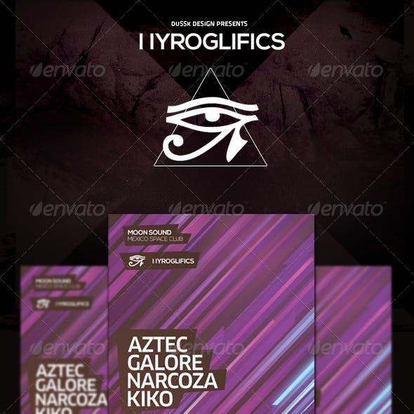 Hyroglifics Poster