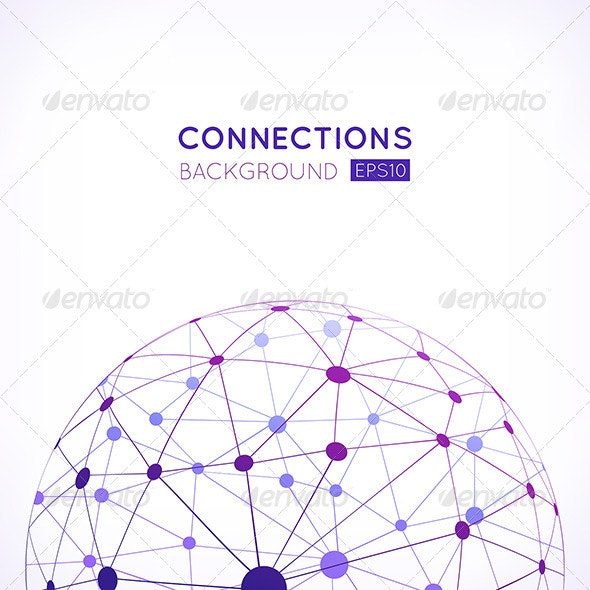 Abstract Network Background - Abstract Conceptual