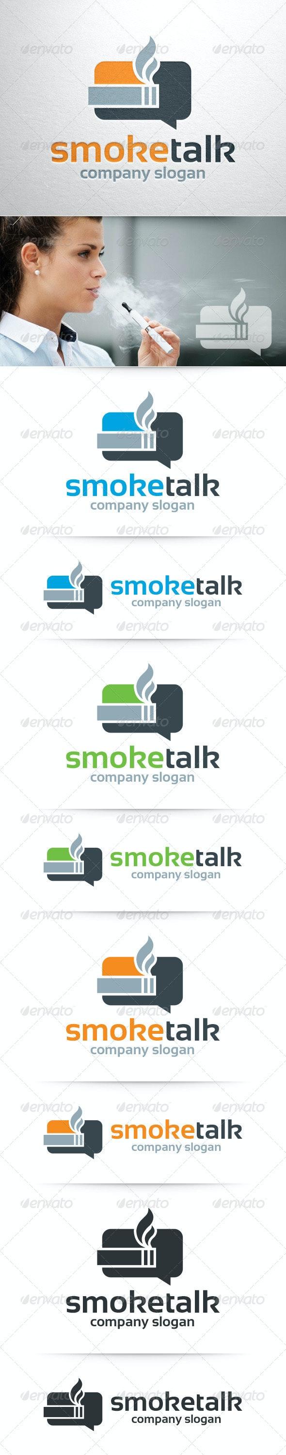 Smoke Talk Logo Template - Symbols Logo Templates