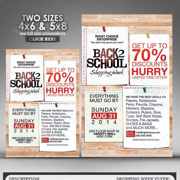 Shopping Week Flyer 2