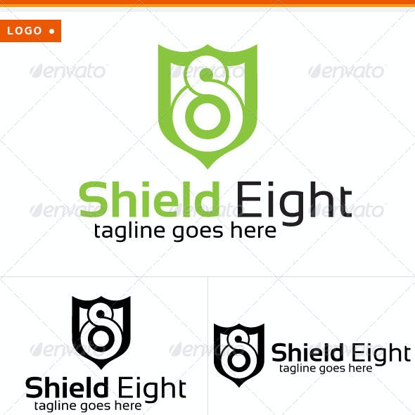 Shield & Eight Logo