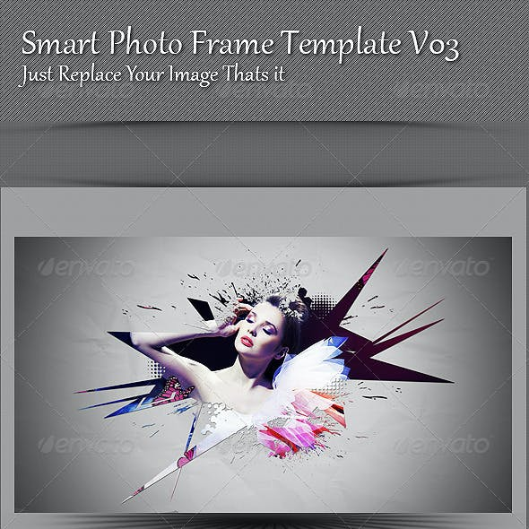 Smart Photo Frame Template V03