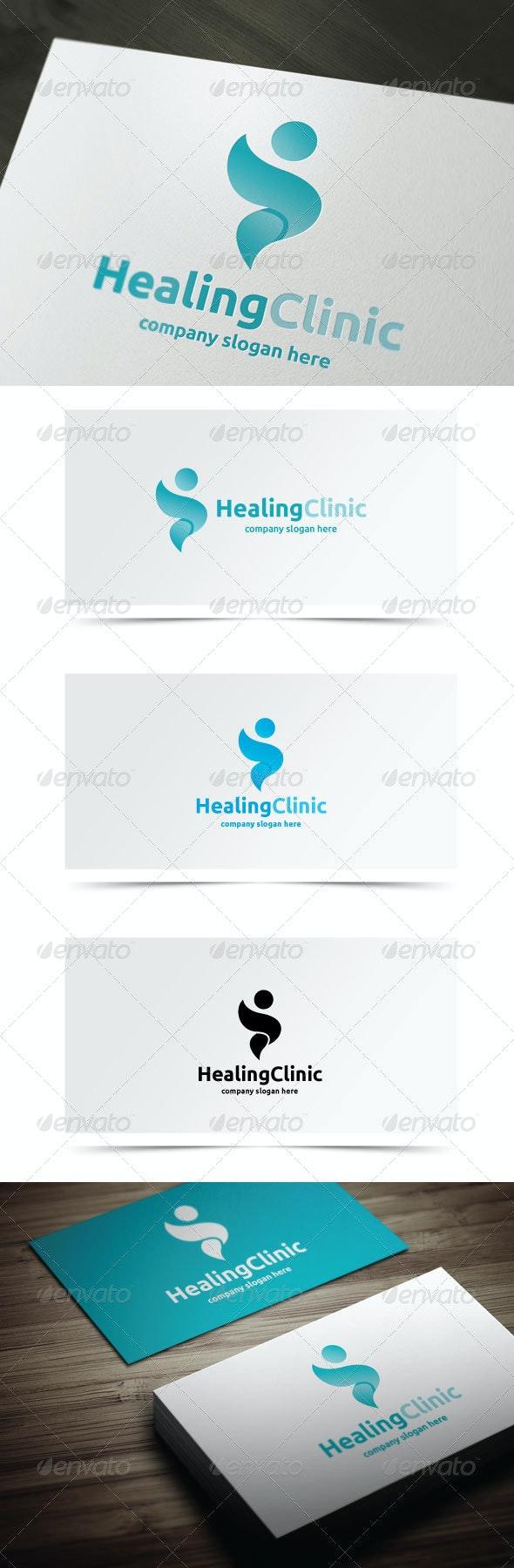 Healing Clinic - Symbols Logo Templates