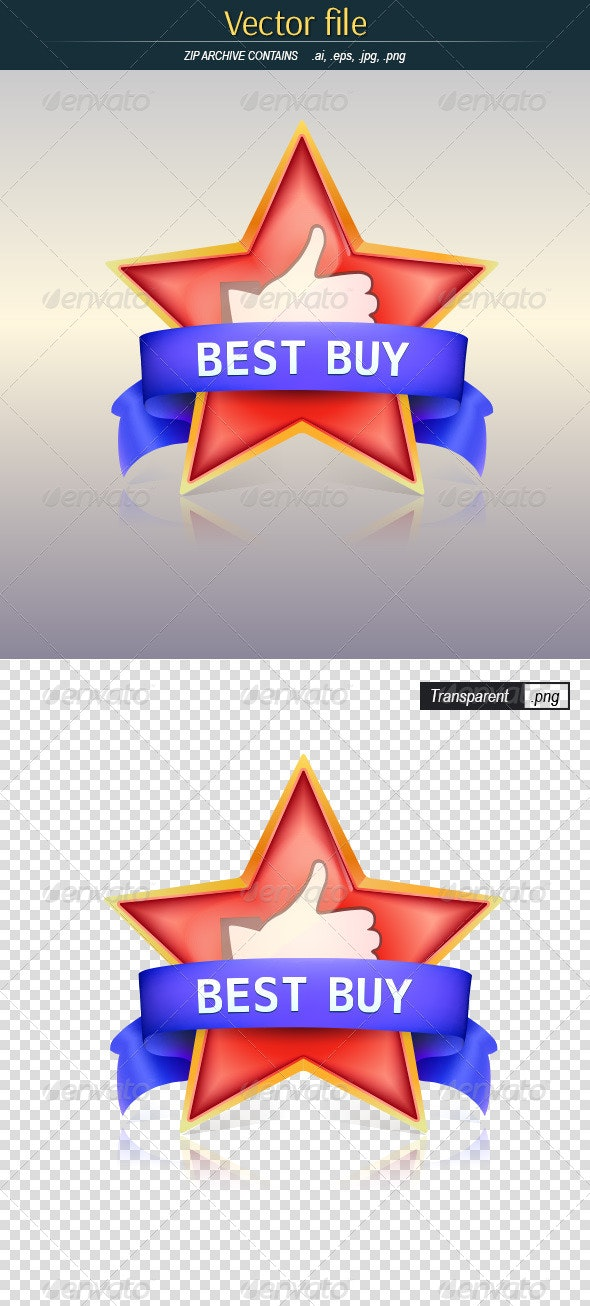 Best Buy Badge - Commercial / Shopping Conceptual
