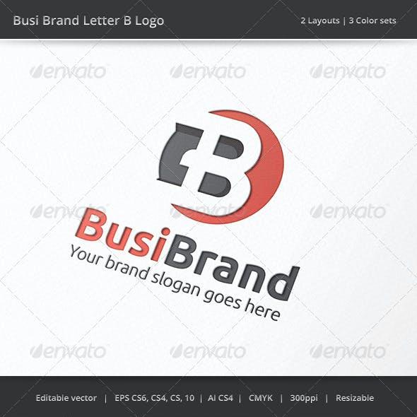 Business Brand Letter B Logo