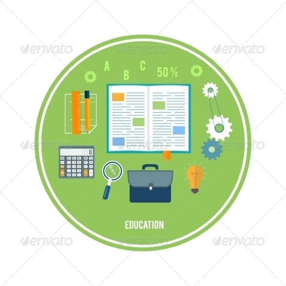 Books and School Elements - Concepts Business