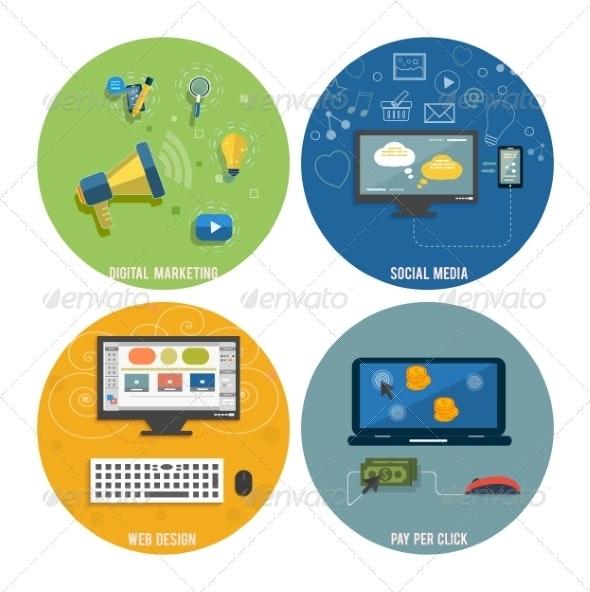 Web Design, Seo, Social Media and Pay Per Click - Web Technology