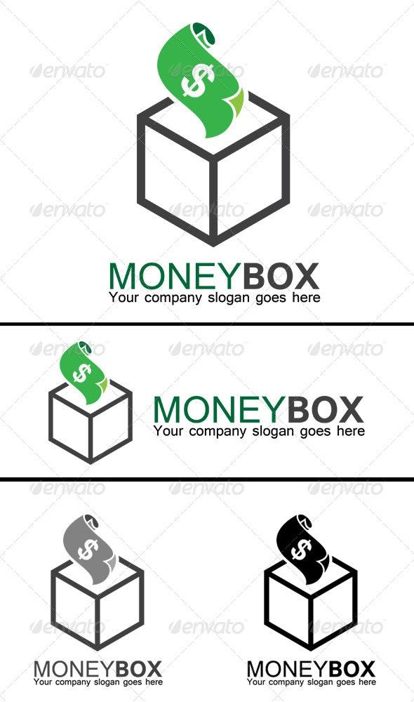 Money Box Logo - Symbols Logo Templates