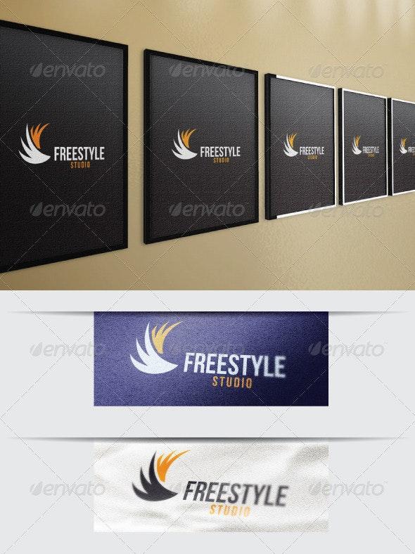 Free-Style Studio Logo Template - Symbols Logo Templates